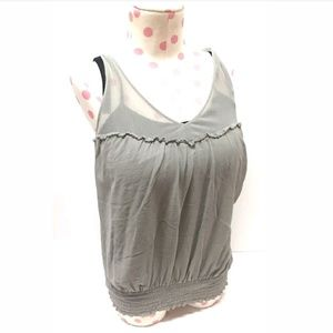 Guess Women's M Silk Tank Top Blouse